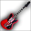 Oddelenie elektrické gitary typ iné