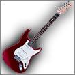 Oddelenie elektrické gitary typ Modelingové a Midi