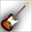 Oddelenie elektrické gitary typ Tele