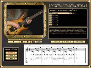 Ukážka cvičenia Rockovej gitarovej školy