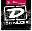 Dunlop Nickel Plated Steel Bass Guitar Strings Medium, DBN2014
