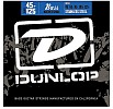 Dunlop Stainless Steel 5-String Bass Guitar Strings Medium, 45-125, DBS2015