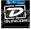 Dunlop Stainless Steel 5-String Bass Guitar Strings Medium, 45-130, DBS2025