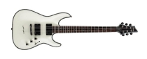 Schecter C-1 Hellraiser, Gloss White, Black Chrome HW
