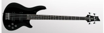 Schecter Omen-4 Bass, Gloss Black, Chrome HW