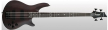 Schecter Omen-4 Bass, Walnut Satin, Black HW