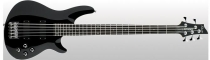 Schecter Omen-5 Bass, Gloss Black, Chrome HW