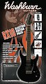 Washburn RX10B electric guitar pack