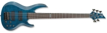 ESP LTD B-155DX See Thru Blue