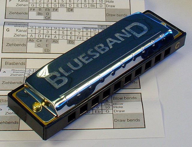Hohner Blues Harmonica Starter Set  - detail